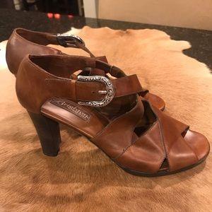 Brighton leather sandal Heel Size 9